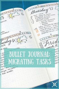 I'm diving into how I handle task migration in my Bullet Journal today! There's a bonus video in here for you as well! :)