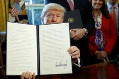 Friday, February 3, 2017:  Trump Begins To Chip Away At Banking Regulations