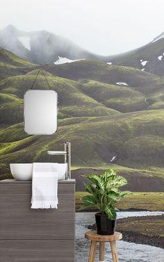 Entwerfen Sie Einen Schönen Kleines Bad Raum Mit Diesen Gästebad Ideen Mit  Ikonischer Toilette Tapete.