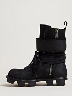 Rick Owens Men's Plinth Hiker Boots