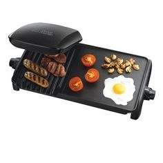 Electric Grill Griddle Indoor Non Stick Plate Griddle Bbq Skillet Table Barbecue