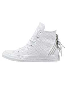 Converse CHUCK TAYLOR ALL STAR TRI ZIP - Sneaker high - white - Zalando.de
