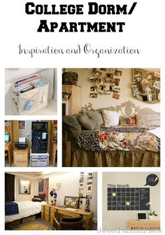 Sweet Parrish Place: These are some great organizational tips!  College Dorm Room/Apartment Inspiration and Organization
