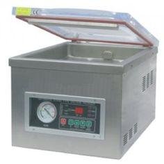 Descrição: Mantenha seus produtos longe de bolor, oxidação, corrosão, etc. Utilizada para selar carnes, grãos, frios, peixe, laticínios, etc.. Ideal para industrias alimentícias, farmacêuticas, eletrônicas, aquáticas, químicas, etc.. Protege os produtos de oxidação, bolor, corrosão, umidade, etc... Mantendo a qualidade e o frescor dos alimentos por mais tempo.  Contato: (11) 2681-3388 Site: http://www.registron.com.br/embaladora-a-vacuo-dz-260-p203