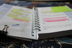 How to keep a planner and keep it organized! Good to know!