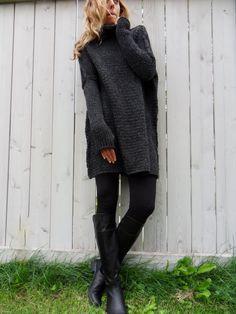 Pull en tricot surdimensionné et copieuse. par RoseUniqueStyle