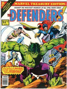 Marvel Treasury Edition - The Defenders