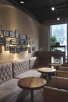20 Gorgeous Pub Interior For Brilliant Room Arrangement Ideas - Page 7 of 20 Pub Interior, Restaurant Interior Design, Shop Interior Design, Restaurant Interiors, Design Café, Deco Design, Design Shop, Design Ideas, Bar Designs
