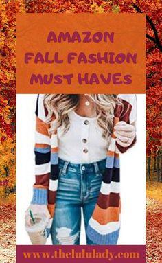 Amazon Fall Fashion Must Haves You Need In Your Closet #amazon #fallfashion #style #fashion