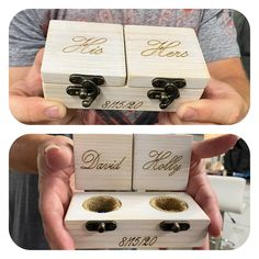 Pictures that were added by happy customers to their 5star review!! Wedding Ring Bearer Box-Ring Box ❤️100% handmade from raw materials❤️ ❤️Customized Engraving❤️ #ringbearerbox #ringboxwedding #ringbox #walnut #engagementringbox #ringbox #wedding #weddingringbox #proposal #weddings #weddingideas #jewelry #ringbox #wedding #proposal #specialday #woodenringbox #woodringbox #weddingringholder #weddingringholder #mysomethingblue #somethingblue #Rusticwedding #rusticringbox #VintageRingbox… Wood Guest Book, Rustic Wedding Guest Book, Ring Holder Wedding, Wedding Rings, Vintage Ring Box, Proposal Ring Box, Wooden Ring Box, Ring Bearer Box, Wood Rings