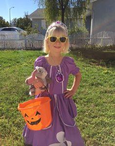 Halloween 2015 - Chloe as Sophia the First