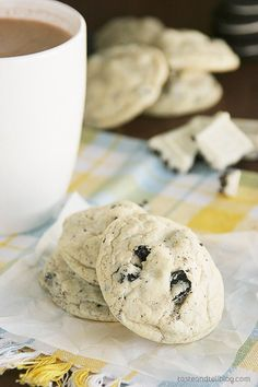 Cookies and Cream Pudding Cookies - The ultimate cookies and cream cookie! Super soft pudding cookies made with cookies and cream pudding mix, Oreo cookies, and Cookies n Creme chocolate.