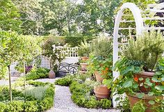 """""""The best gardens are the ones that look good in all  seasons,"""" writes Carolyne in her new book. """"If you can create a  landscape that doesn't only come to life in spring, it will be a  source of pleasure—even when it's too cold to venture out."""""""