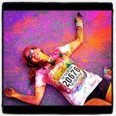 Love your colors #TheColorRun
