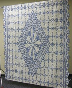 Kim's Quilting Adventure: Quilted Diamonds with Linda Franz
