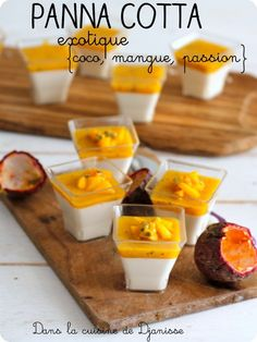 French Desserts, No Cook Desserts, Panna Cotta Coco, Yummy Treats, Sweet Treats, Food Plating, Cake Recipes, Brunch, Food And Drink