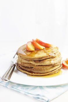 Gingerbread Pancakes www.bellalimento.com