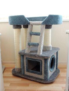 -   - #Gatosartesanato #Gatosmanualidades #tudosobreGatos Cat Tree House, Cat House Diy, Cat Tree Condo, Cat Condo, Cool Cat Trees, Diy Cat Tree, Cool Cats, Cat Tree Plans, Cat Climber