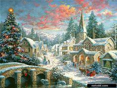 Christmas landscape by Nicky Boehme-11
