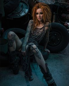 Model: Shelly d'Inferno Welcome to Gothic and Amazing |www.gothicandamazing.com
