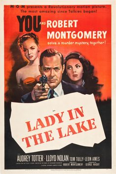 January 23 - Opened on this date in 1947: Lady In The Lake. #filmnoir #RaymondChandler