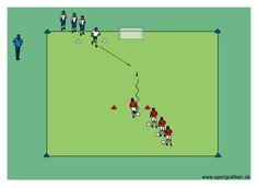 http://www.top-soccer-drills.com/1v1-mini-goal.html #soccer #coaching #practice