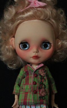 OOAK Custom Blythe Art Doll Jessie by Bravura by bravuradolly