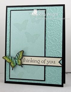 Retro Butterfly by kyann22 - Cards and Paper Crafts at Splitcoaststampers
