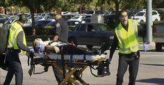 Police said two suspects — one man and one woman — were killed in a shootout after a shooting in San Bernardino, Calif., that killed at least 14 people and wounded 17 others. A third person was detained.