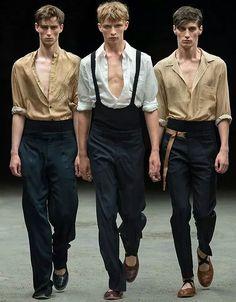 the poetry of material things Look Fashion, Fashion Show, Mens Fashion, Fashion Outfits, Fashion Design, Fashion Trends, Kasimir Und Karoline, Dries Van Noten, Mode Man