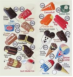 """latemodelrex: """"I drove an ice cream truck after school when I was I sold most of these. My Childhood Memories, Great Memories, School Memories, School Days, Nutty Buddy, Almond Bars, Vintage Ice Cream, Italian Ice, Ice Pops"""