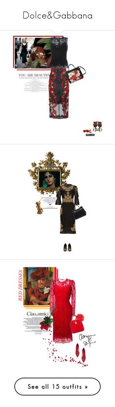 """""""Dolce&Gabbana"""" by theitalianglam ❤ liked on Polyvore featuring Dolce&Gabbana, dolcegabbana, Packandgo, baroque, bytheitalianglam, Hanky Panky, Chanel, Max Studio, Muveil and muveil"""