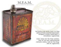 Junior Shell motor oil