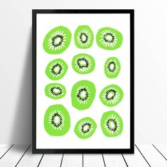 Are you interested in our tropical fruit wallart limited edition? With our vibrant colour kiwifruit wall art you need look no further.