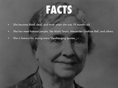 Helen Keller Poster Board Project | Abby | Pinterest | Projects ...