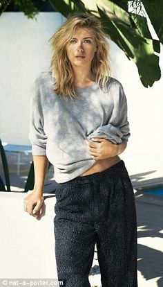 Maria Sharapova goes high fashion in glossy shoot for Net-a-Porter #dailymail