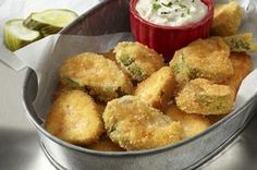 Ritz Fried Pickles!  Here is one of the easiest fried pickle recipes I have ever posted. It also is one of the tastiest!