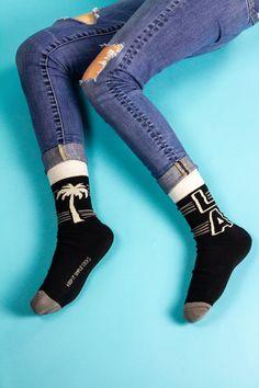Leg's be honest, who doesn't ❤️ LA? Keep It Simple, High Socks, Nyc, Legs, Collection, Fashion, La La Land, Moda, Thigh High Socks