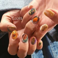 """348 Likes, 1 Comments - ATERIER SUCRE (@nail.sucre) on Instagram: """"#sucrenail#nail#art#nails…"""""""