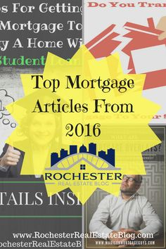 Top Mortgage Articles From 2016 - http://www.rochesterrealestateblog.com/best-real-estate-blog-articles-2016/ via @KyleHiscockRE