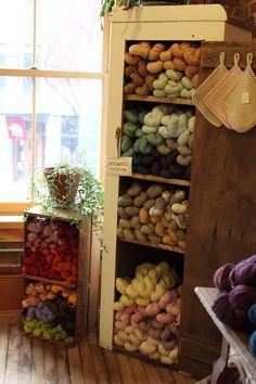 Nido yarn shop in Vermont