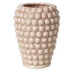 Vase - Dotty - Keramik - Cream Tan - H:20 cm | Broste Copenhagen AS