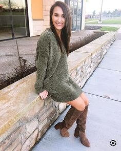 """2e403a49d32 They are just so simple! Add a boot and you ve got an entire look! This   express chenille dress is…"""""""