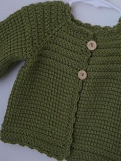 Tunisian Crochet Girl Sweater by CarlaJC | Crocheting Ideas