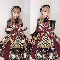 "282 Me gusta, 2 comentarios - スイカ (@kyouko_zzz) en Instagram: ""#lolitafashion #今日のコーデ #lolitastyle #lolitadress #和风 #metamorphose"""