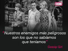 Frase de Gossip Girl :-) XoXo