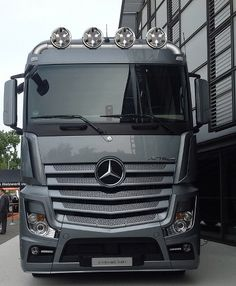2013 Mercedes Actros MP4 of Germany