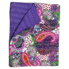Mandi Throw in Purple