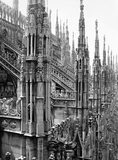 Duomo di Milano - the rooftop