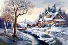 winters   ***Most Beautiful Paintings***